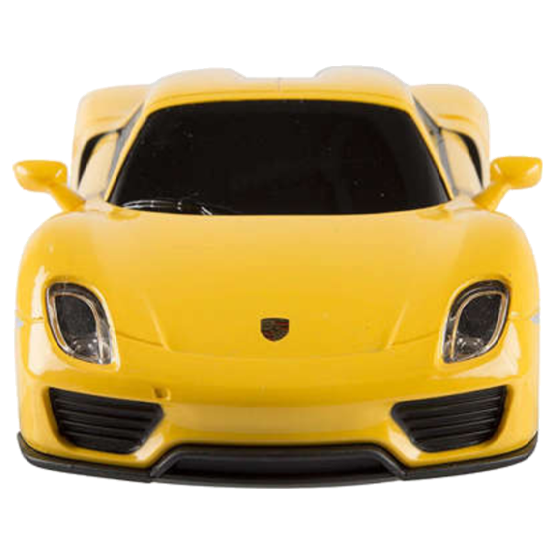 Porsche 918 Spyder Remote Controlled Car (Yellow)_1