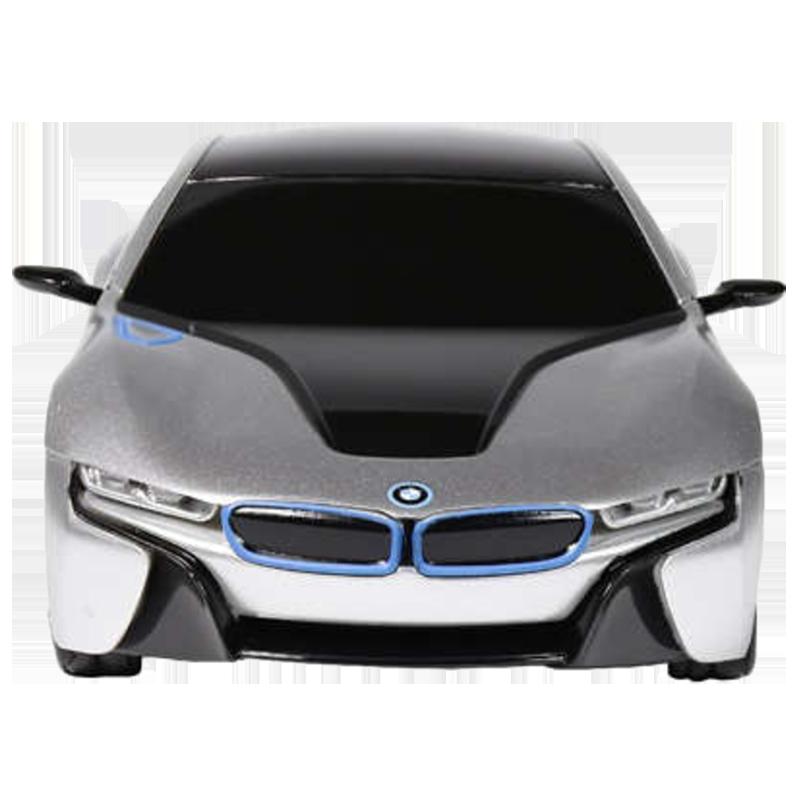 Rastar Remote Controlled Sports Toy Car (BMW l8, Silver)_1