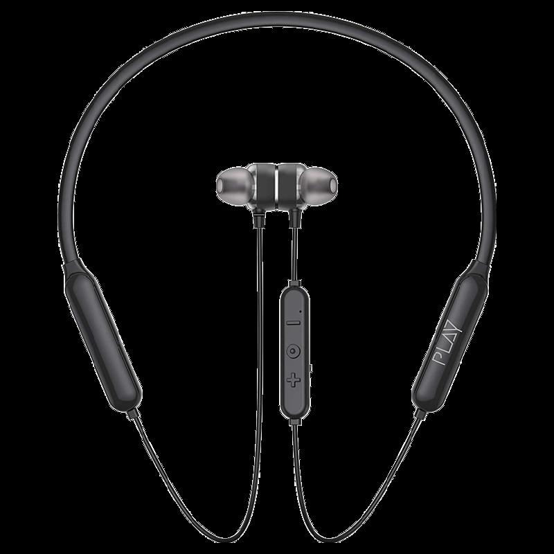 Playgo Wireless Earphones (N23, Black)_1
