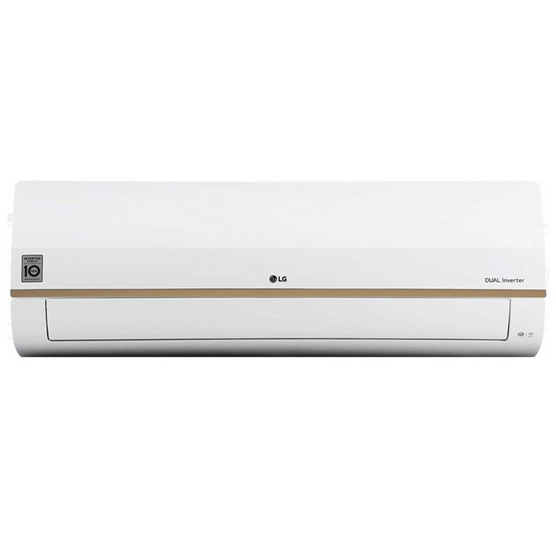 LG 1 Ton 5 Star Inverter Split AC (Wi-Fi Supported, Copper Condenser, LS-Q12GWZA, White)_1