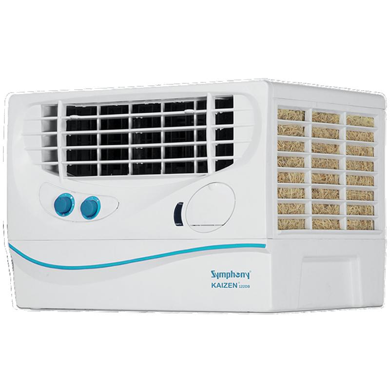 Symphony 22 Litres Personal Air Cooler (Cool Flow Dispenser, Kaizen 122 DB, White)_1