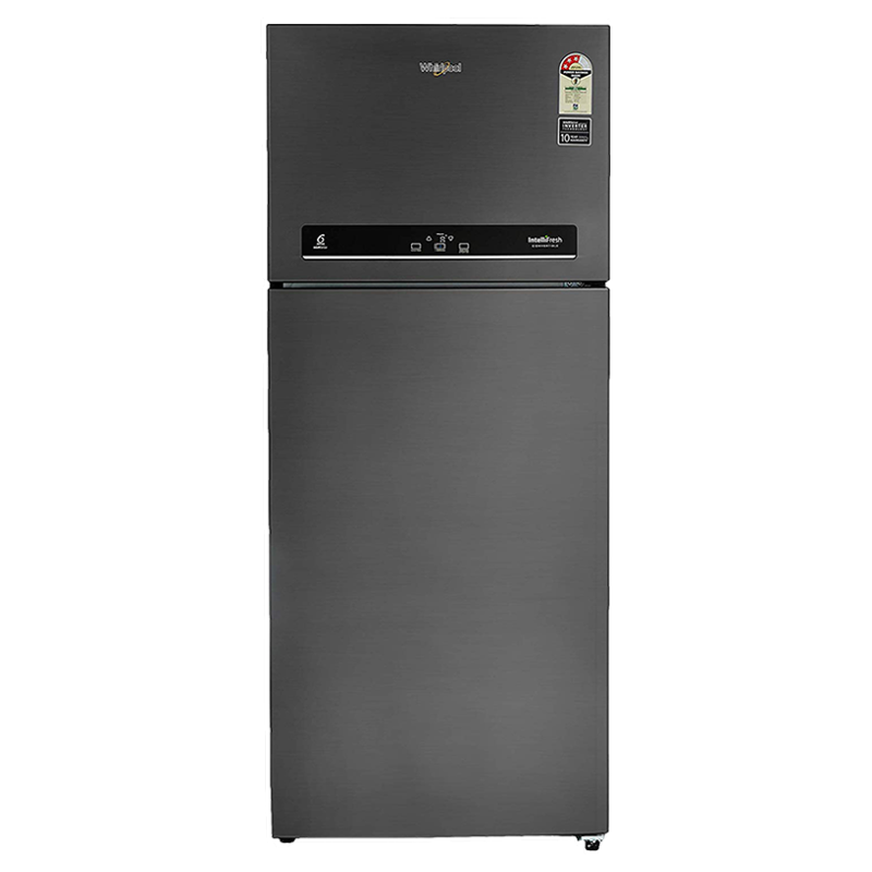 Whirlpool 440 L 3 Star Frost Free Double Door Convertible Refrigerator (IF CNV 455, Steel Onyx)_1