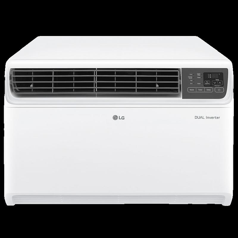LG 1.5 Ton 3 Star Inverter Window AC (Copper Condenser, JW-Q18WUXA1, White)_1