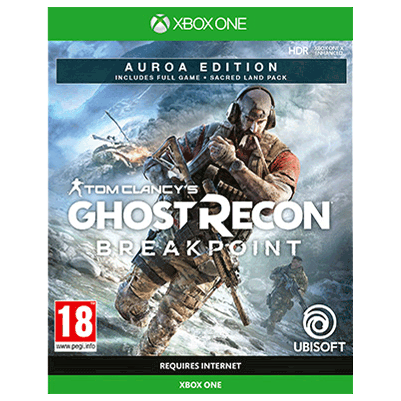 Ubisoft Tom Clancy's Ghost Recon: Breakpoint Game for Xbox One (Action Games, Auroa Edition)_1