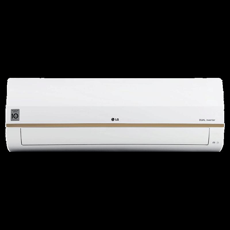 LG 1.5 Ton 4 Star Inverter Split AC (Wi-Fi Supported, Copper Condenser, LS-Q18GWYA, White)_1