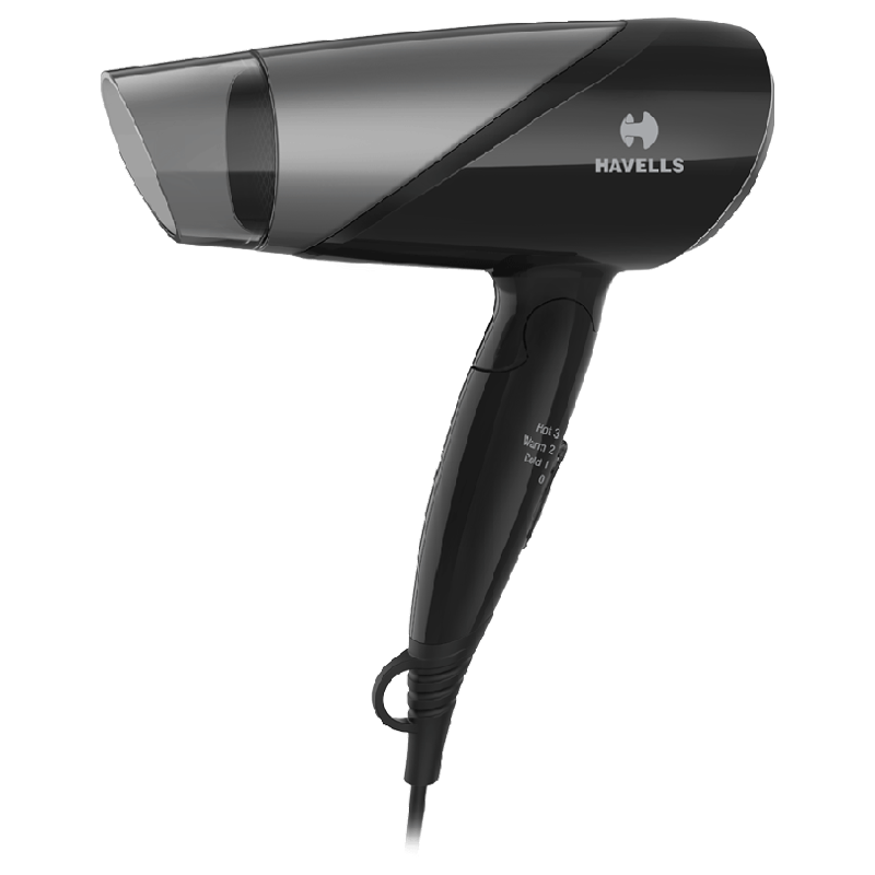 Havells 3 Setting Hair Dryer (In-Built Thermostat, HD3251, Black)_1