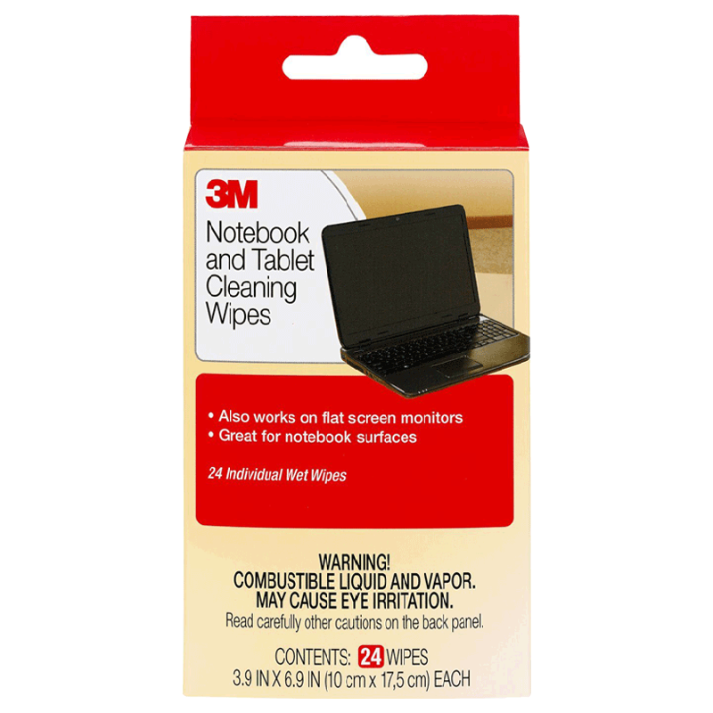 3M Notebook Screen Cleaning Wipes (CL630, Grey)_1