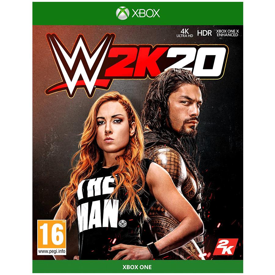 Xbox One Game (WWE 2K20)_1