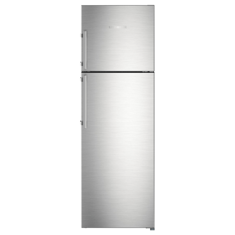 Liebherr 346 Litres 3 Star Frost Free Inverter Double Door Refrigerator (Central Power Cooling, TCss 3520, Stainless Steel)_1