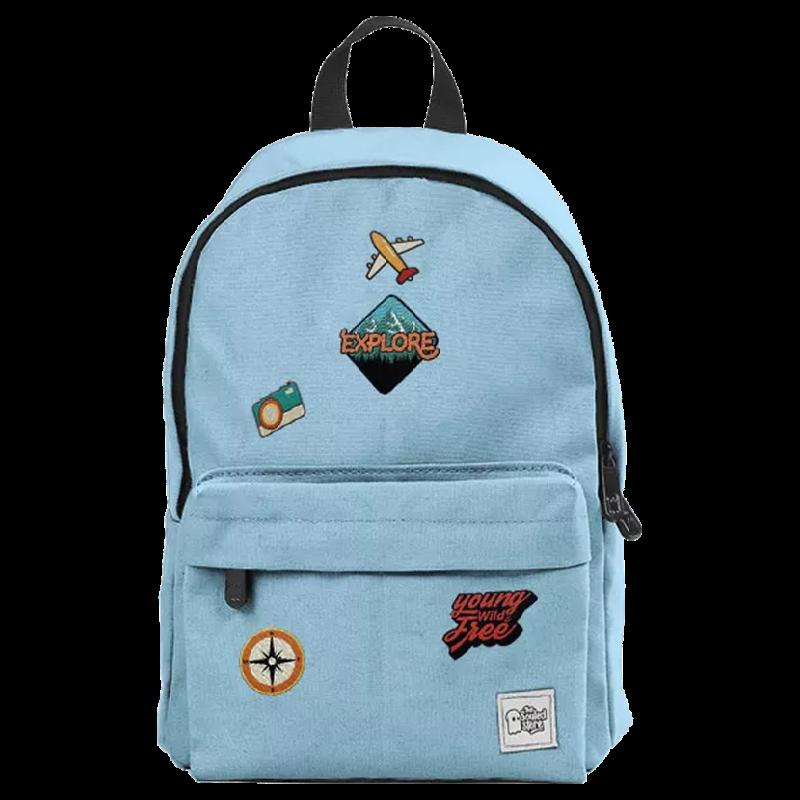 The Souled Store Explore 12 Litres Mini Backpack (CR201, Blue)_1