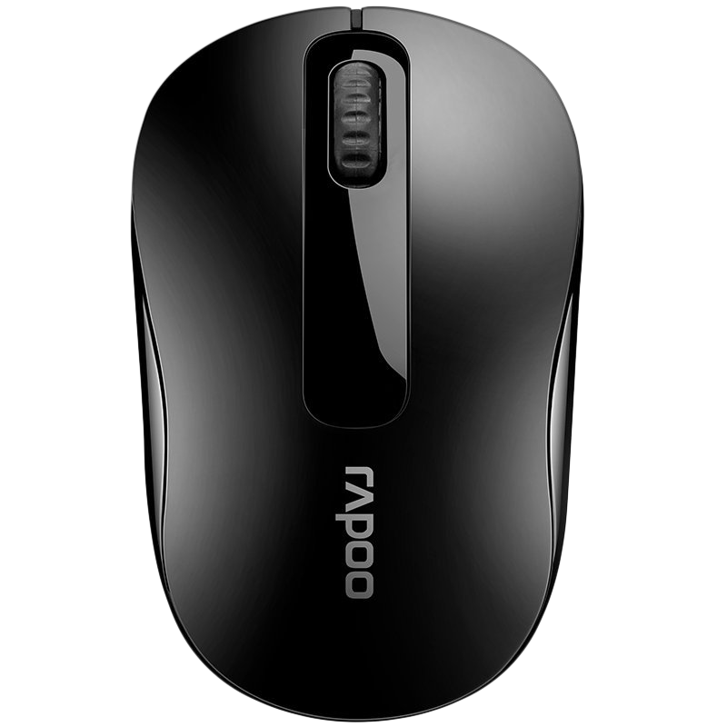 Rapoo M10 1000 DPI Bluetooth Optical Mouse (Black)_1