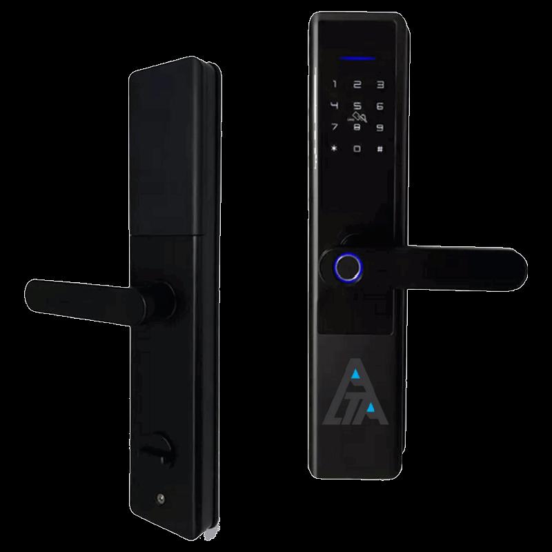 Alta Tecnologia Semi Automatic Digital Lock (DL-215, Black)_1