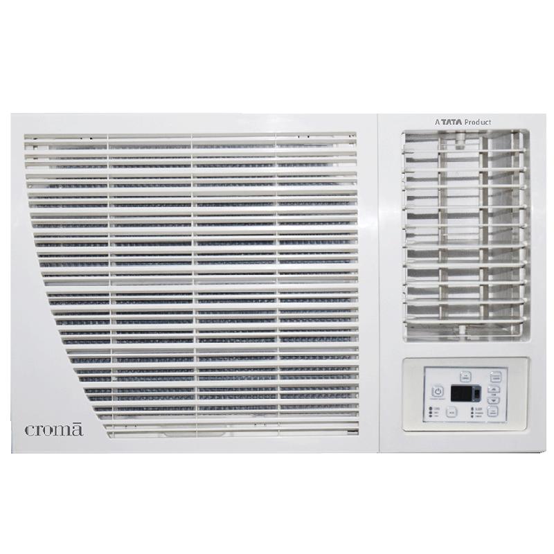 Croma 1.5 Ton 5 Star Window AC (Copper Condenser, CRAC1172, White)_1