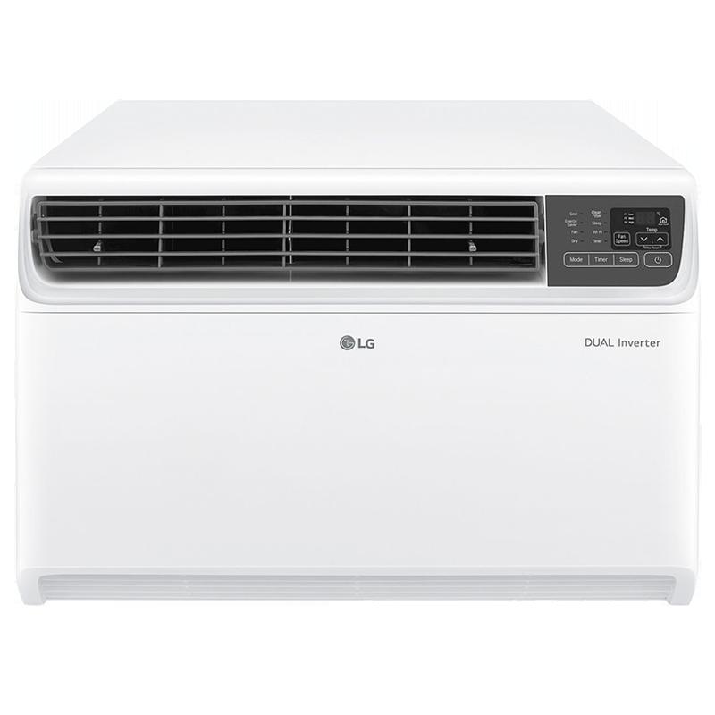 LG 1 Ton 5 Star Inverter Window AC (JW-Q12WUZA, Copper Condenser, White)