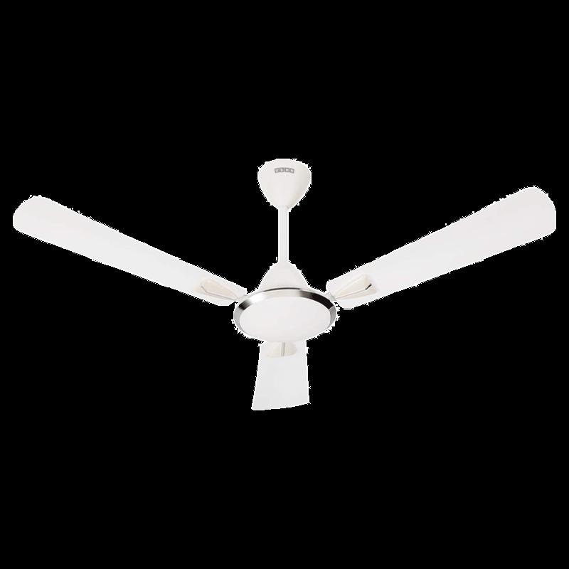 Usha Good Bye Dust Ceiling Fan (Striker Galaxy, Pearl White Chrome)_1