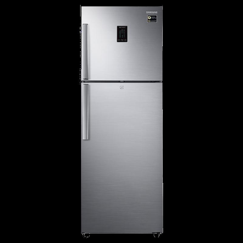 Samsung 324 Litres 3 Star Inverter Double Door Refrigerator (Twin Cooling Plus, RT34T4413S9/HL, Inox)_1