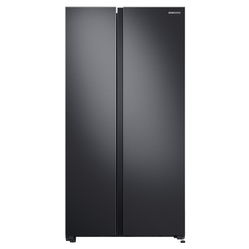 Samsung 700 Litres Frost Free Inverter Side-by-Side Door Refrigerator (SpaceMax Technology, RS72R5011B4/TL, Black Matt)_1