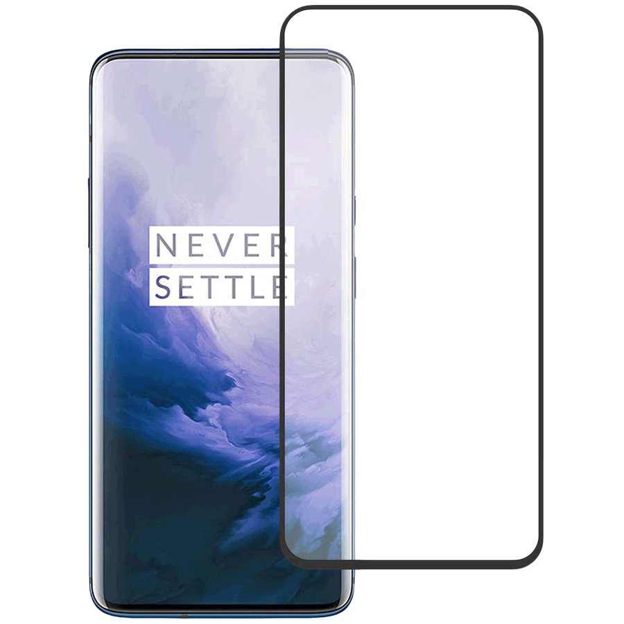 Stuffcool Mighty 3D Curved Scratch Guard for OnePlus 7 Pro (MGGP3DOP7P, Black)_1