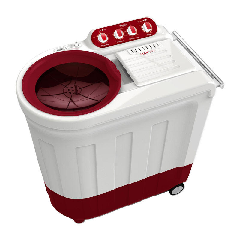 Whirlpool 7 kg Semi-Automatic Top Loading Washing Machine (ACE70CR, Red)_1