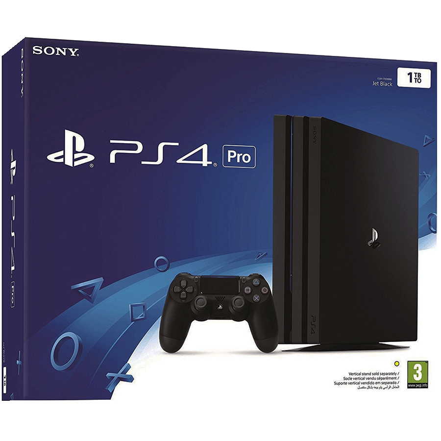 Sony PlayStation 4 Pro 1 TB Gaming Console (Black)_1