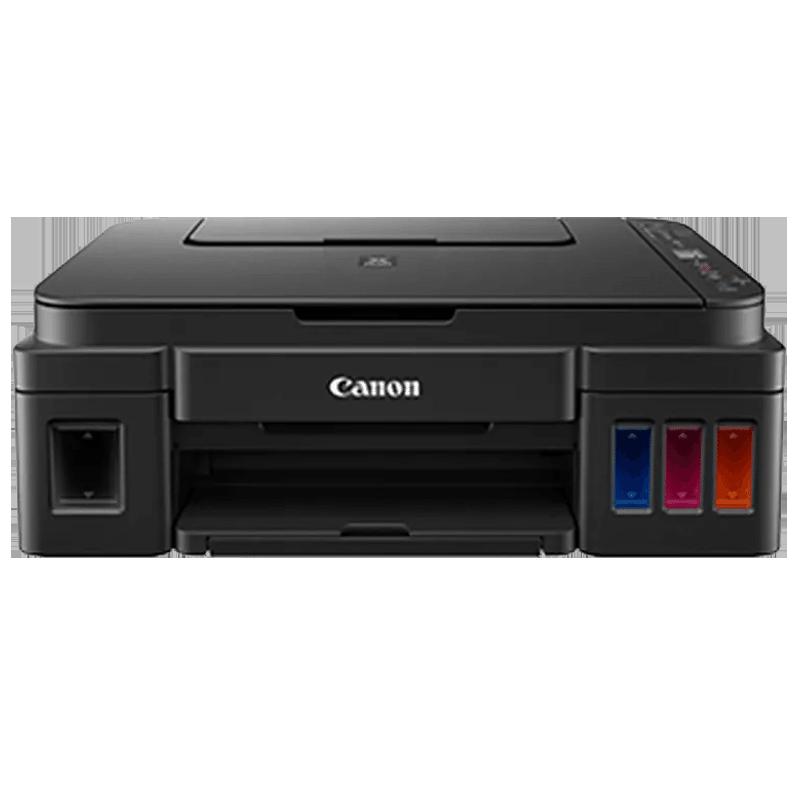 Canon Pixma All-in-One Ink Tank Printer (G3010, Black)_1