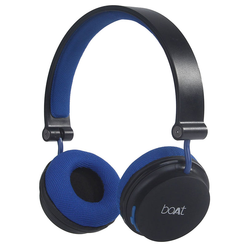 boAt Rockerz 400 Over-Ear Wireless Headphone with Mic (Bluetooth 4.1, Extra Bass, Royal Blue)_1