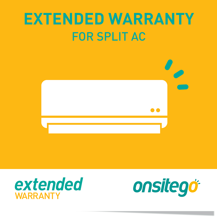 Onsitego 1 Year Extended Warranty for Split AC (Rs.150,000 - Rs.200,000)_1