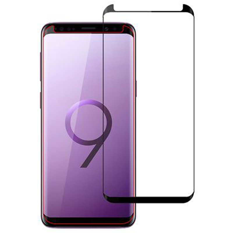 Stuffcool Full Covarage 3D Tempered Glass Screen Protector for Samsung Galaxy S9 Plus (MGGP3DSGS9P, Black)_1