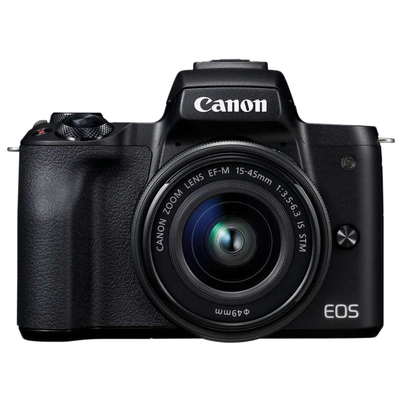 Canon M50 24.1 MP Mirrorless Camera Body with 15 - 45 mm Lens (2680C019AA-K, Black)_1