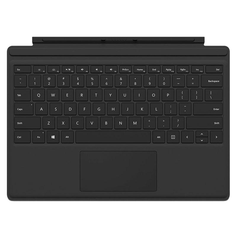Microsoft Flip Case for Surface Pro 4 (FMM-00015, Black)_1