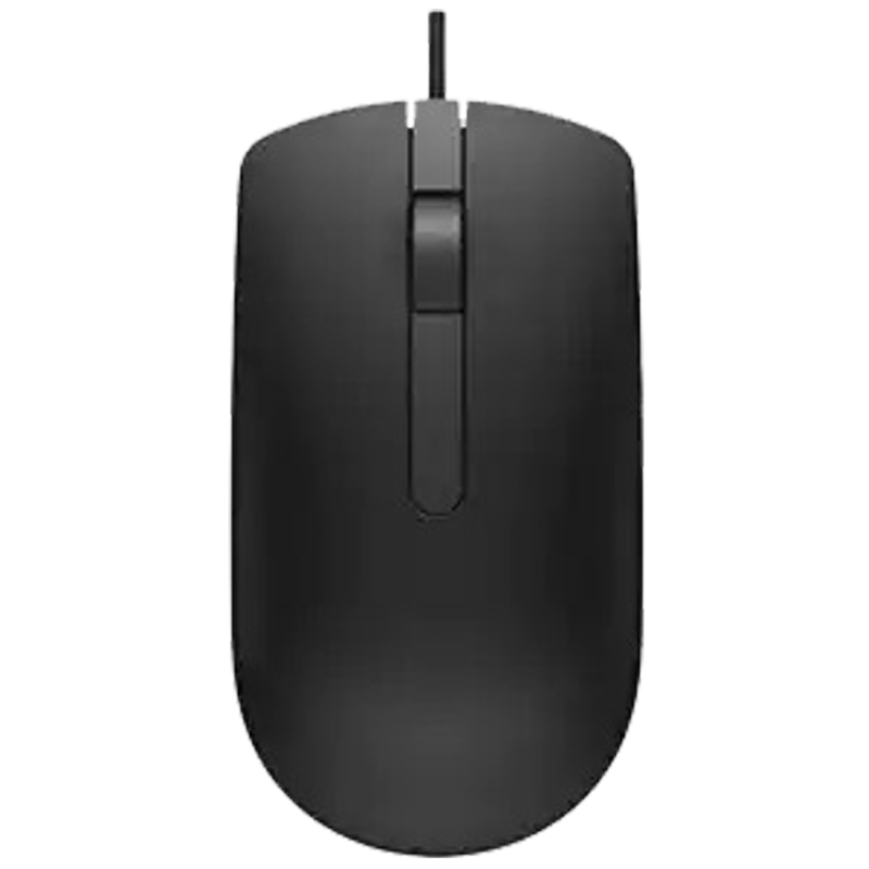 Dell MS116 1000 DPI Optical Wired Mouse (570-AAJG, Black)_1