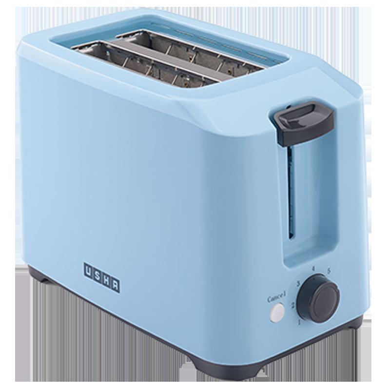 Usha 700 Watt 2 Slice Pop Up Toaster (PT 3720, Blue)