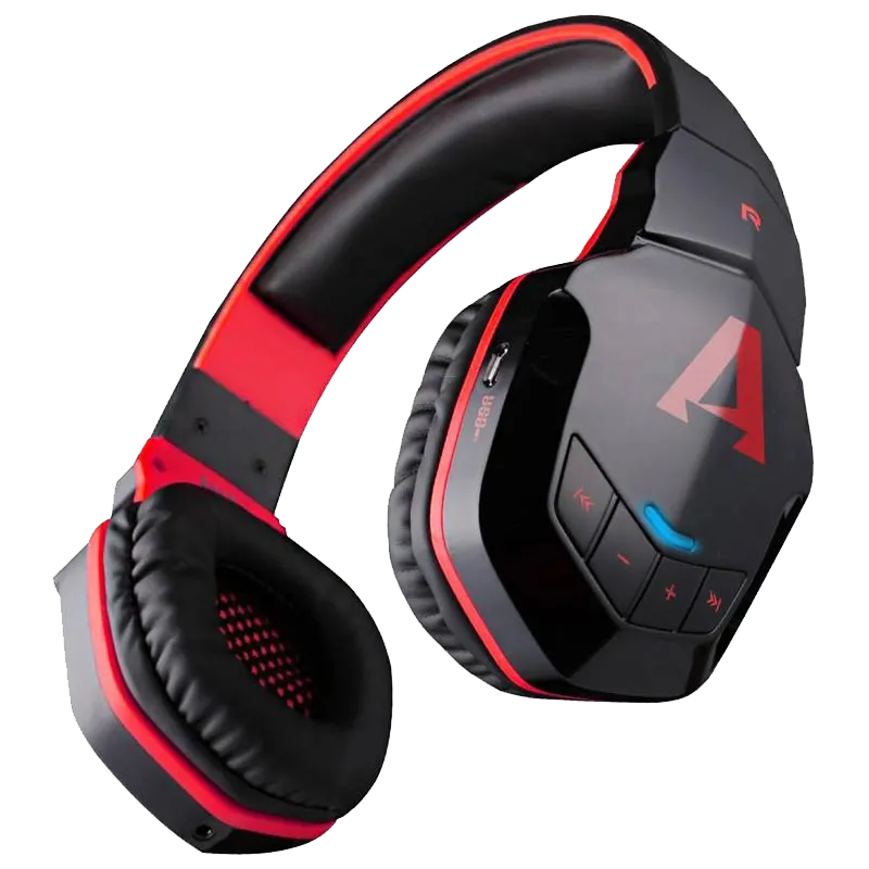 boAt Rockerz 510 Over-Ear Wireless Headphone with Mic (Bluetooth 4.1, Thumping Bass, Red)_1