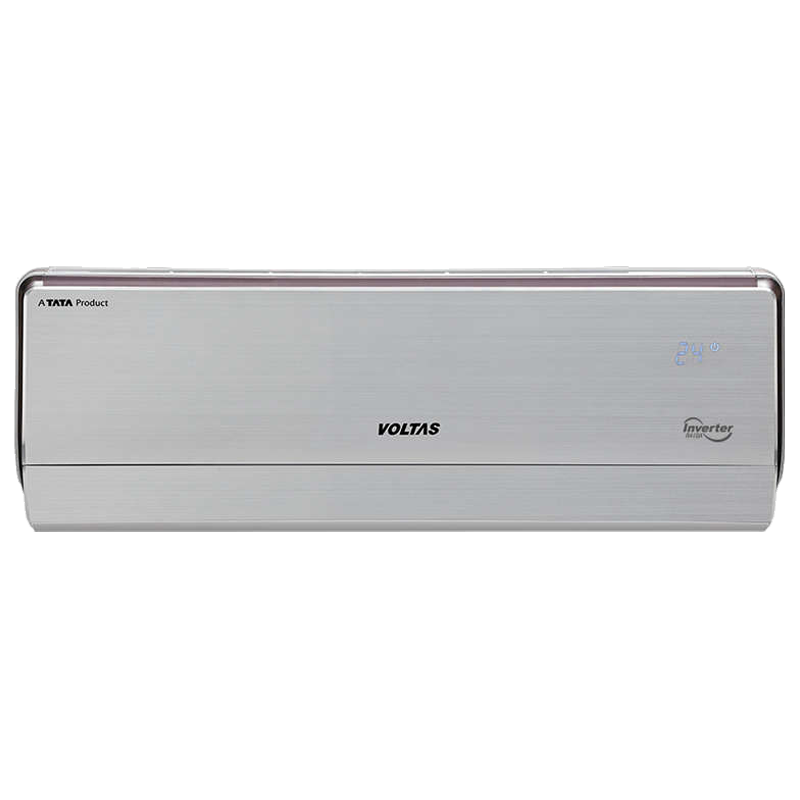 Voltas 1 Ton 5 Star Inverter Split AC (Hot & Cold, Copper Condenser, 125VH Crown AW, White)_1