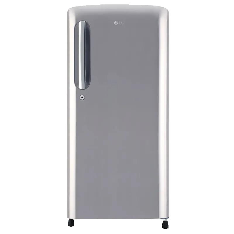 LG 190 Litres 3 Star Direct Cool Single Door Inverter Refrigerator (GL-B201APZX, Steel)_1