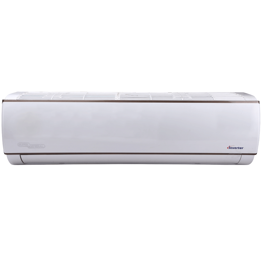 Super General 1.5 Ton 3 Star Inverter Split AC (SGSI187-i3, Copper Condenser, White)_1
