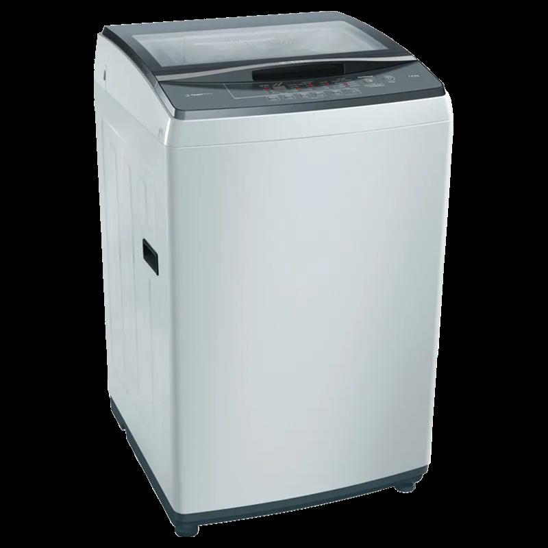 Bosch 7.5 Kg 5 Star Fully Automatic Top Loading Washing Machine (WOE754Y0IN, Grey)_1