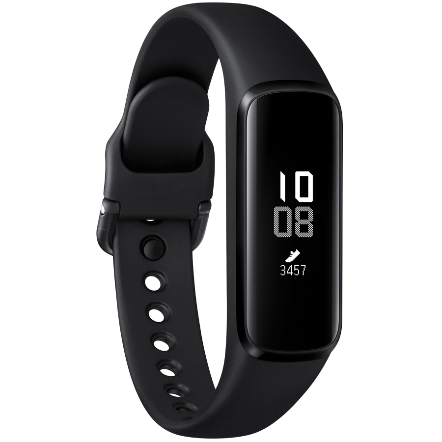 Samsung Galaxy Fit e Fitness Tracker (18.9mm) (Continuous Heart Rate Monitor, SM-R375NZKAINU, Black)_1
