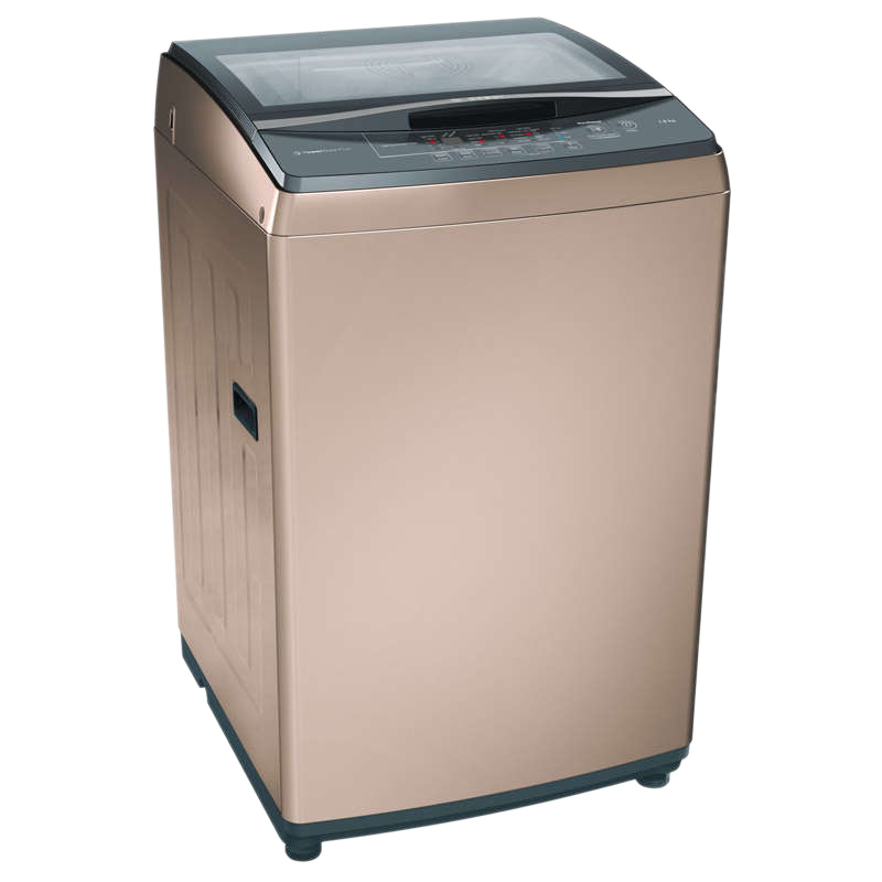 Bosch 7 kg Fully Automatic Top Loading Washing Machine (PowerWave Plus WOA702R0IN, Champagne)_1