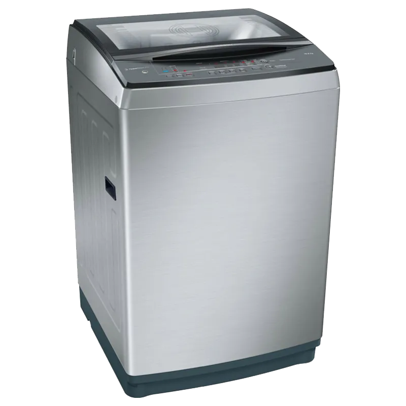 Bosch 10 Kg 5 Star Fully Automatic Top Loading Washing Machine (WOA106X0IN, Inox)_1