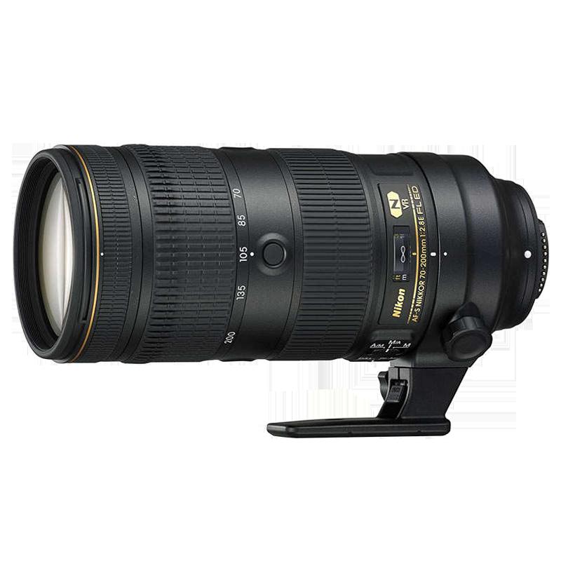 Nikon FL ED 70-200 mm F2.8-F22 VR Lens (JAA830DA, Black)_1