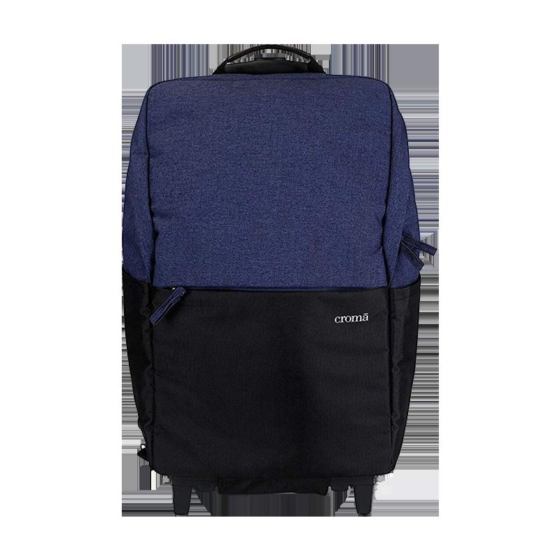 Croma 15 inch Laptop Trolley Bag (IA2011, Black)_1