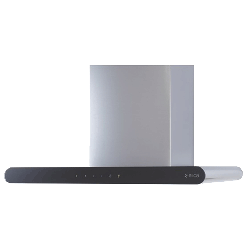 Elica Galaxy 90cm 3D Filter Wall Mount Chimney (EDS HE LTW90 T4V LED, Stainless Steel)_1