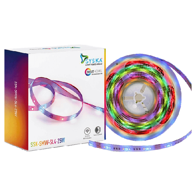Syska 25 W Smart LED Light Strip (SMW-SL4-25W, White)_1