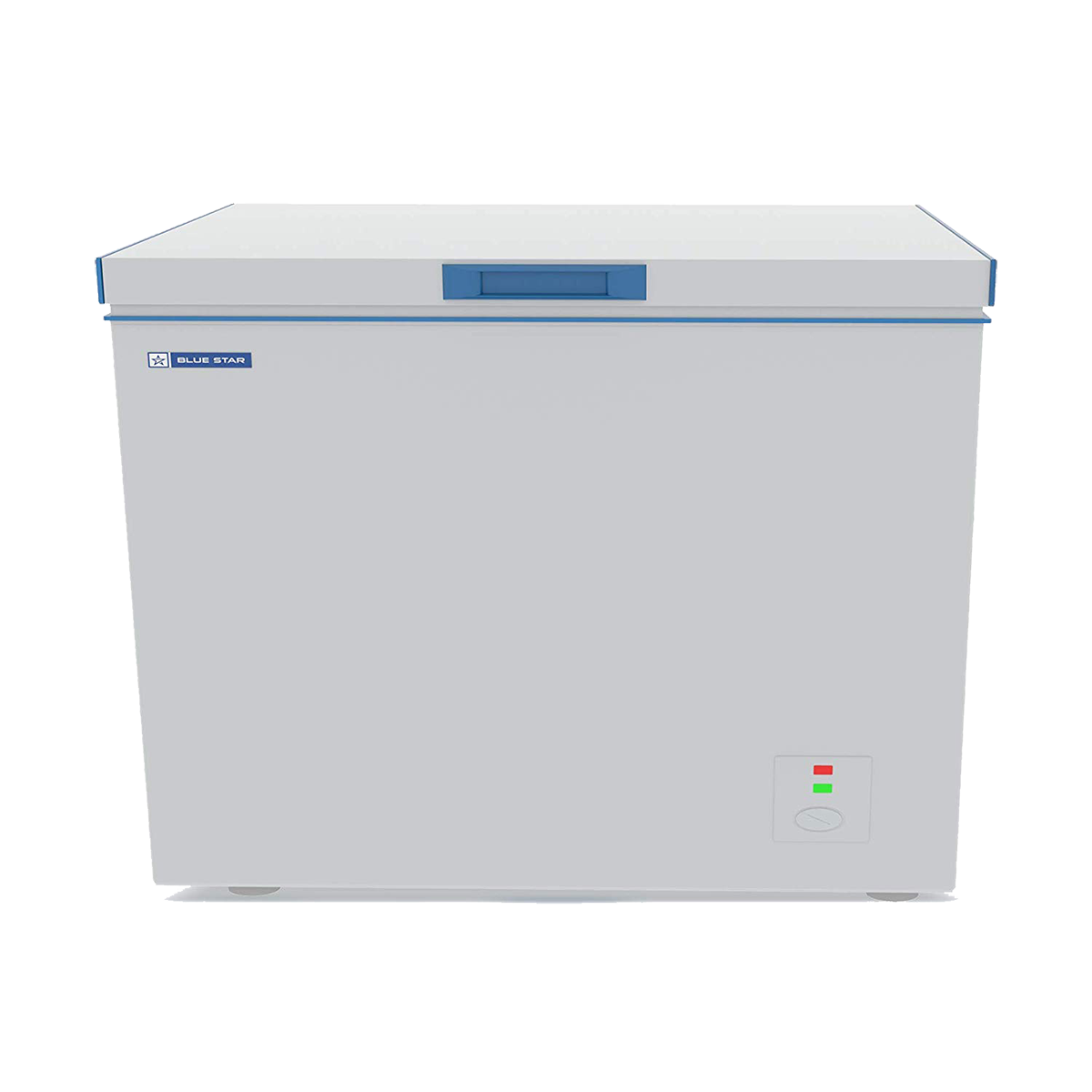 Blue Star D Series 285 Litres Direct Cool Single Door Chest Freezer (Recessed Handle, CHFSD300DGSW, White)_1