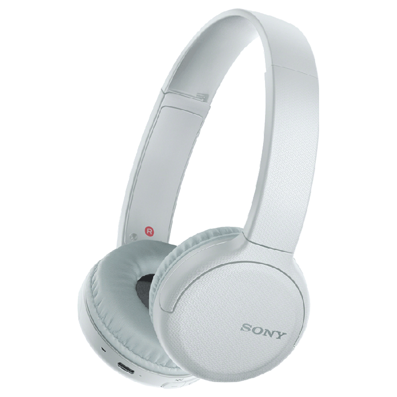 Sony Bluetooth Headphones (WH-CH510, White)_1