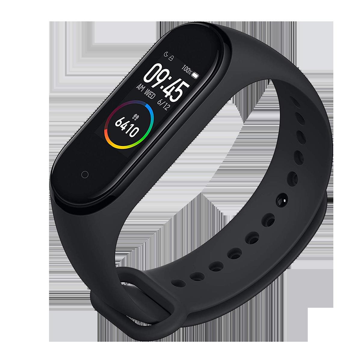 Xiaomi Mi Band 4 Fitness Tracker (24.1mm) (Heart Rate Sensor, MGW4054IN, Black, TPU Band)_1