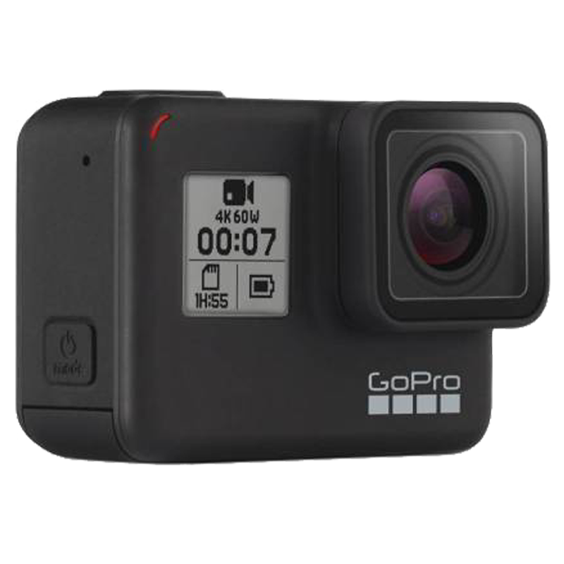 GoPro Hero 7 12 MP Action Camera With Holiday Bundle Pack (CHDRB-70, Black)_3