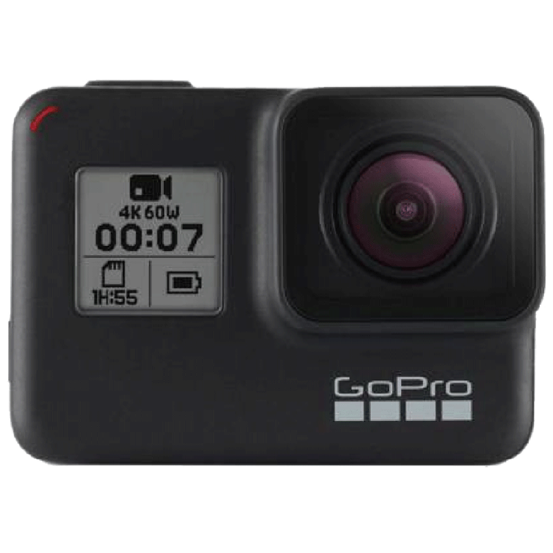 GoPro Hero 7 12 MP Action Camera With Holiday Bundle Pack (CHDRB-70, Black)_1
