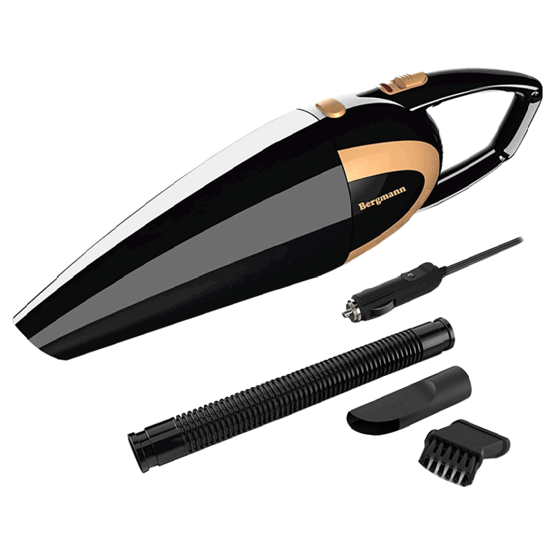 Bergmann Stunner Car Vacuum Cleaner (BAV-150B, Black)_1